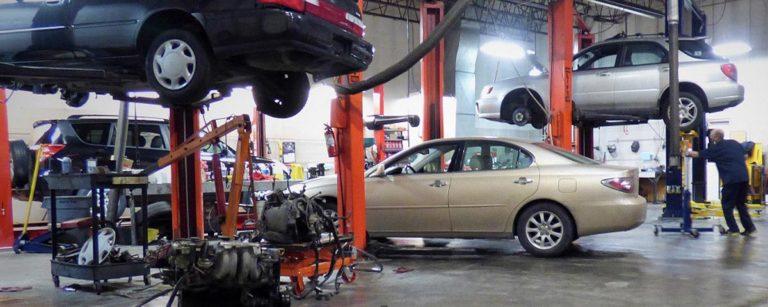 Auto Repair Shop At Its Best