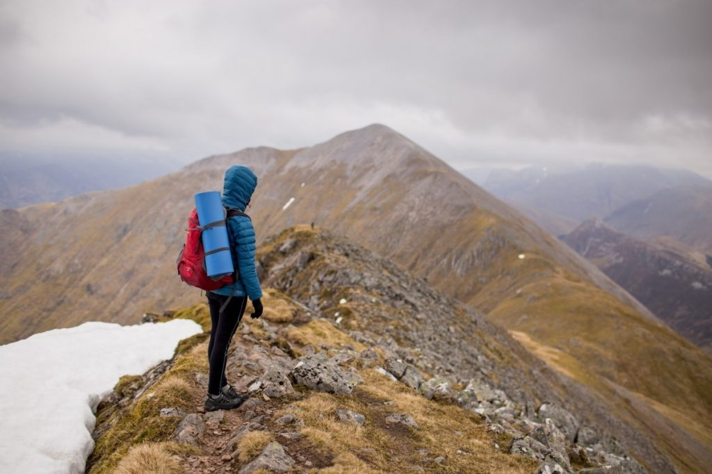 Health benefits of climbing and hill walking